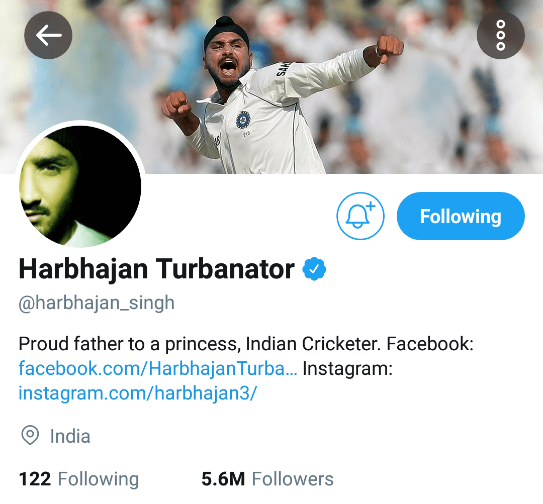 Did you notice the surname that he added- how apt!