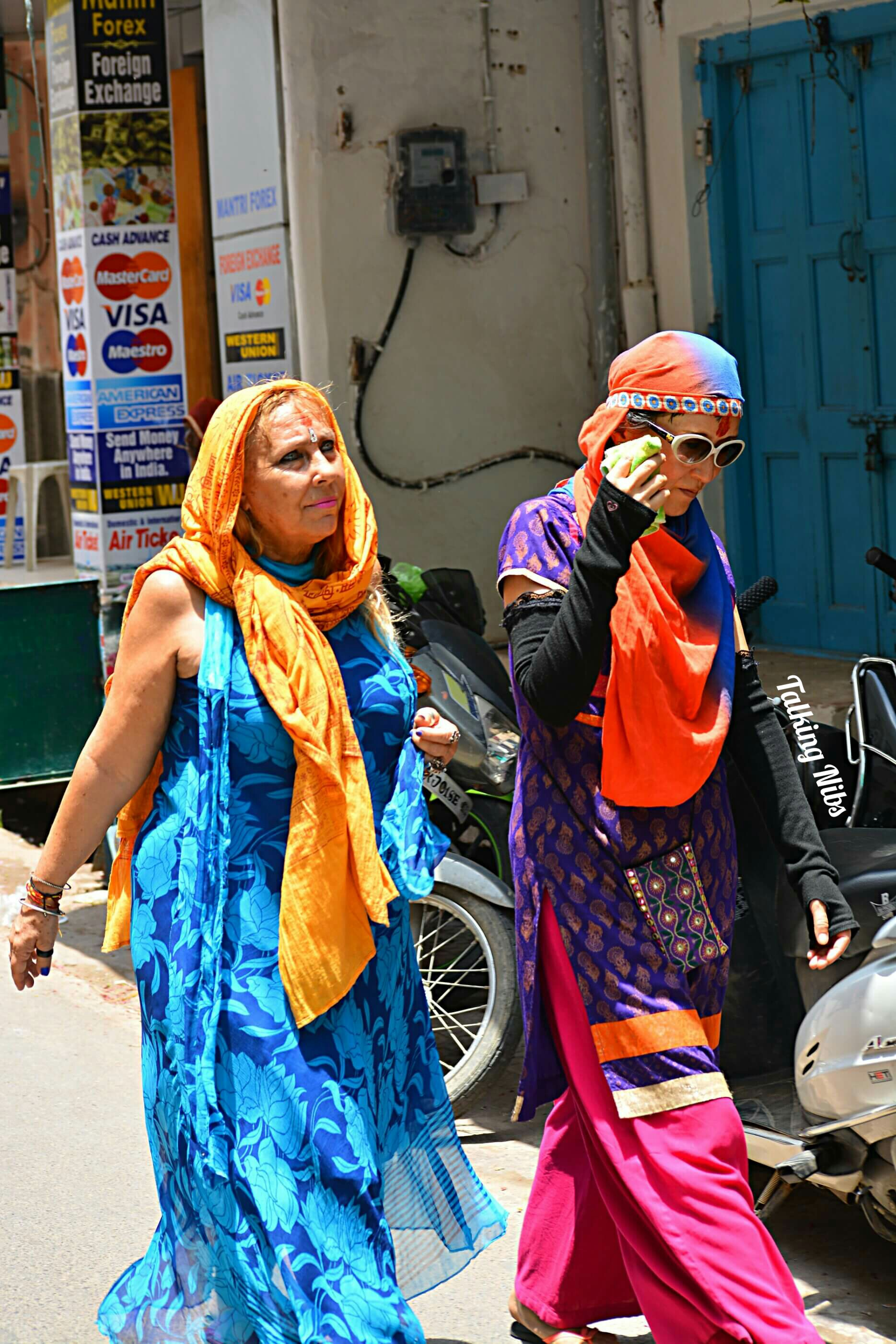 Foreigners in Pushkar