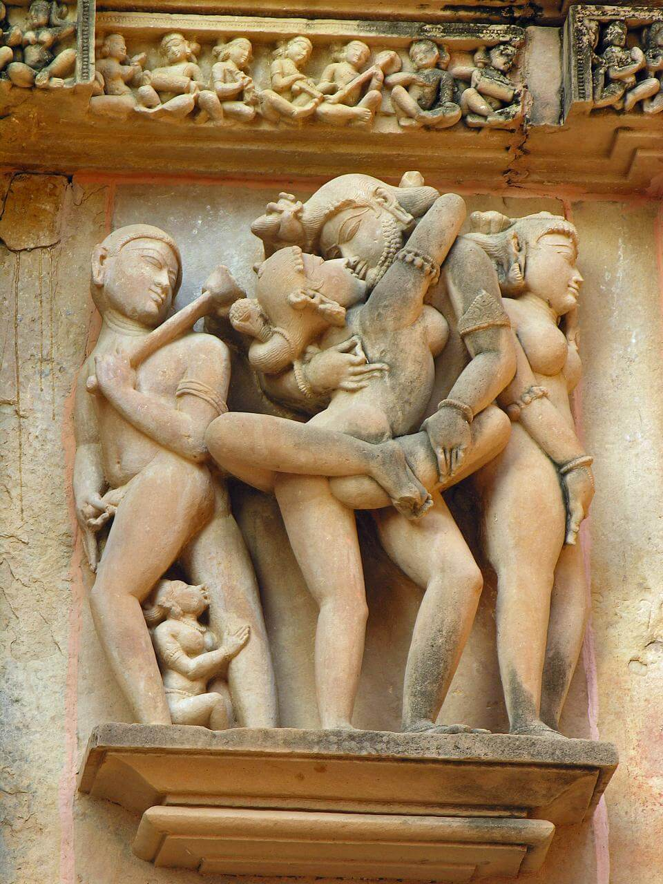 image Tantra the erotic sculptures of khajuraho