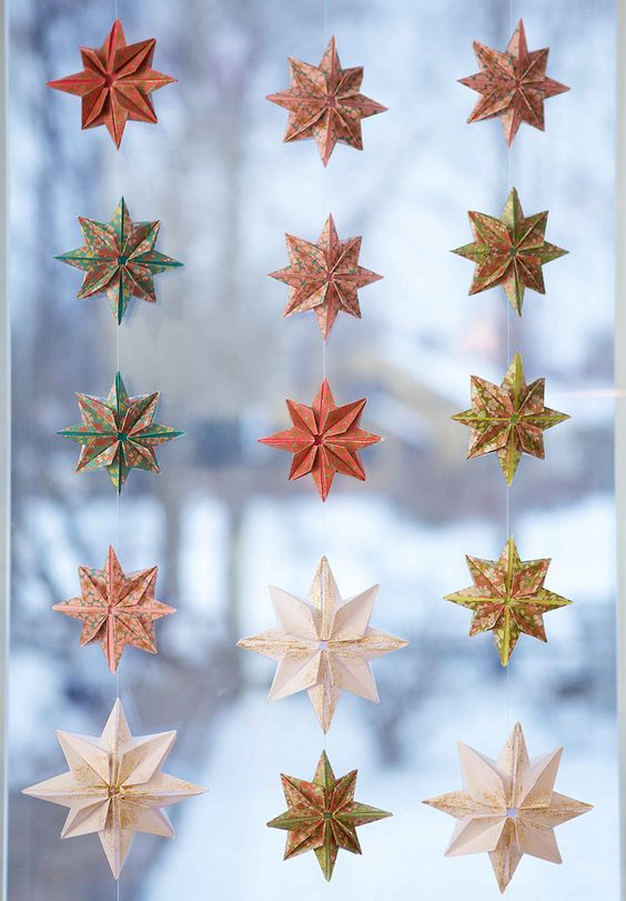 Christmas Decor Ideas- Starry Colorful