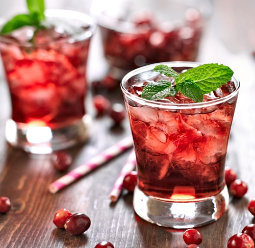 Cranberry and Rum