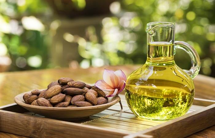 How To Take Care Of Skin And Hair During Holi-Almond Oil