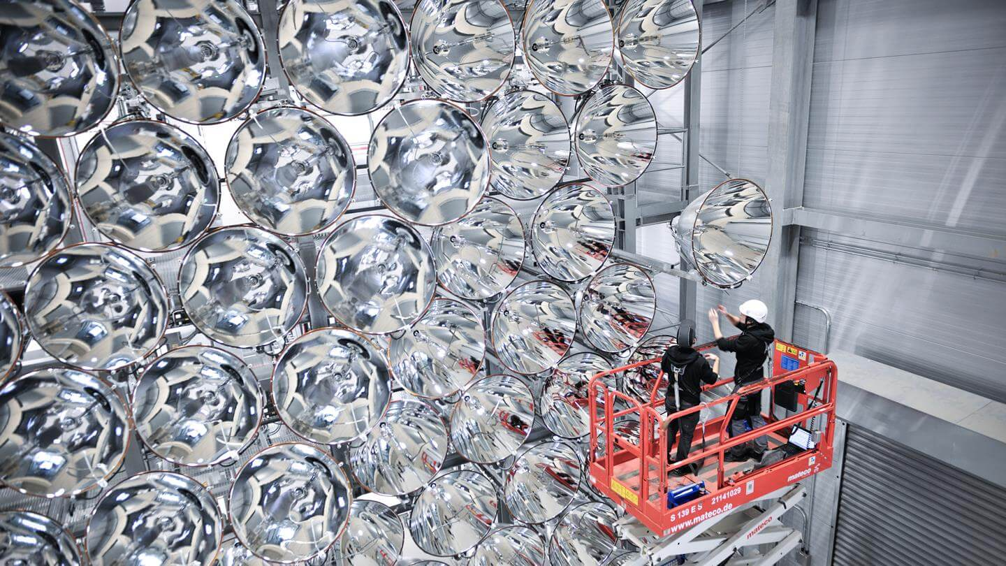 Inspection of the Artificial Sun