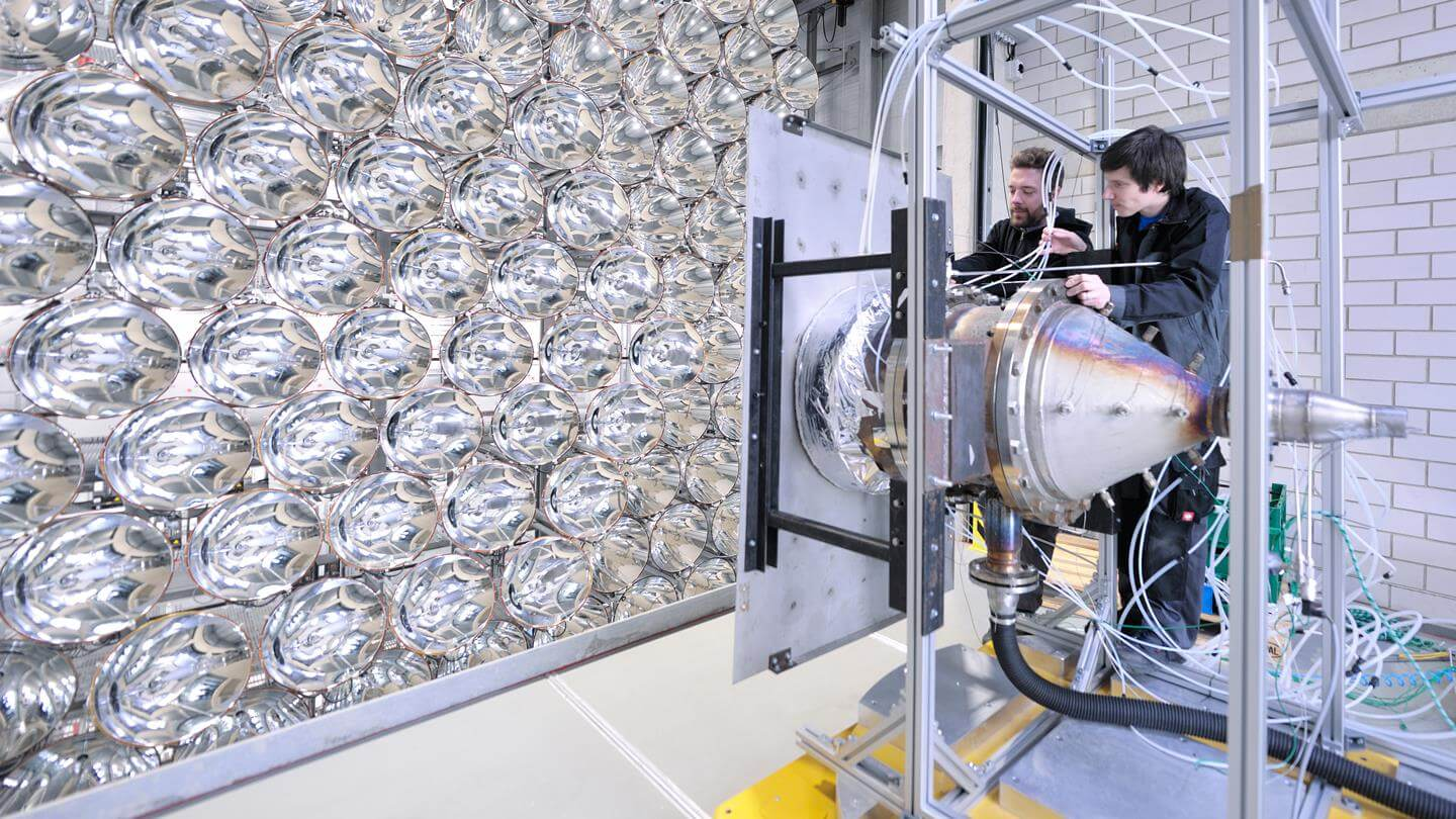 Preparation of an experimental setup- Artificial Sun