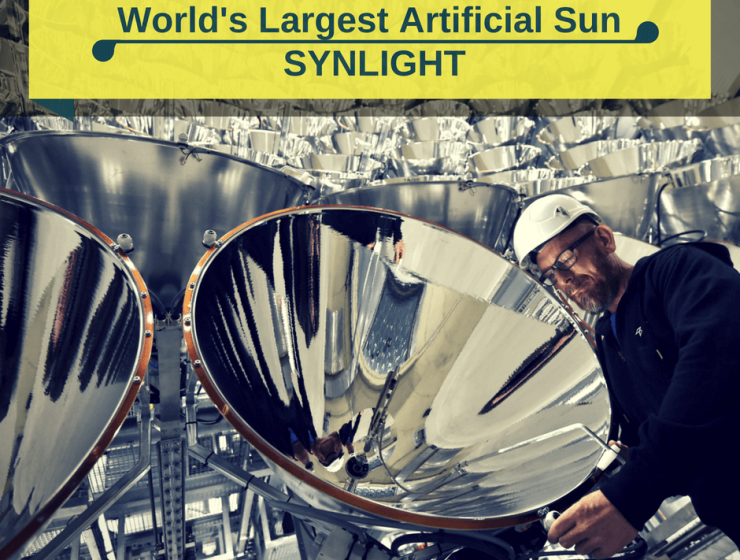 World's largest artificial Sun- Synlight