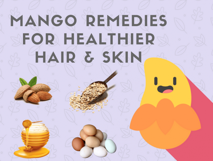 MANGO REMEDIES FOR HEALTHIER HAIR & SKIN