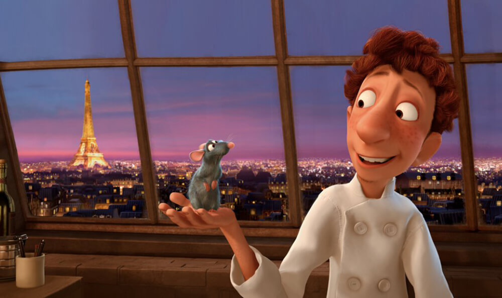 Linguini's Apartment from the movie Ratatouille